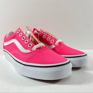Vans Old Skool Neon Knockout Pink Sneakers
